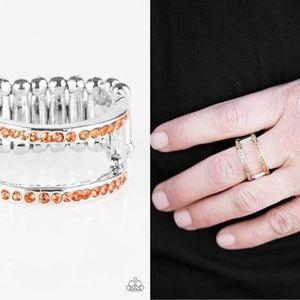 Rhinestone Stretch Band Ring - Fashion Accessories